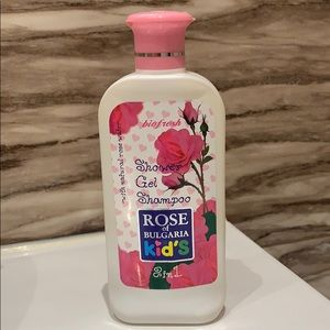 🌸 2 in 1 Rose shower gel and shampoo for kids